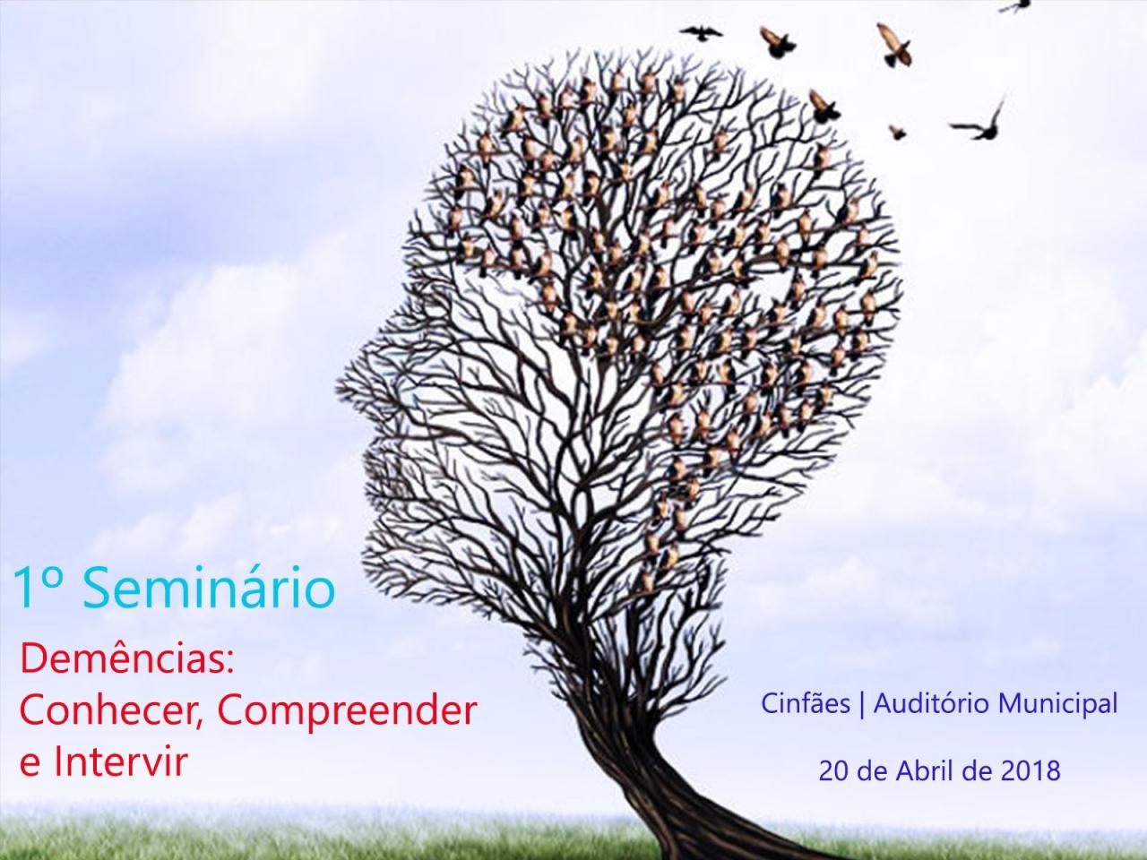 """1º Seminário - """"Demências: Conhecer, Compreender e Intervir"""""""
