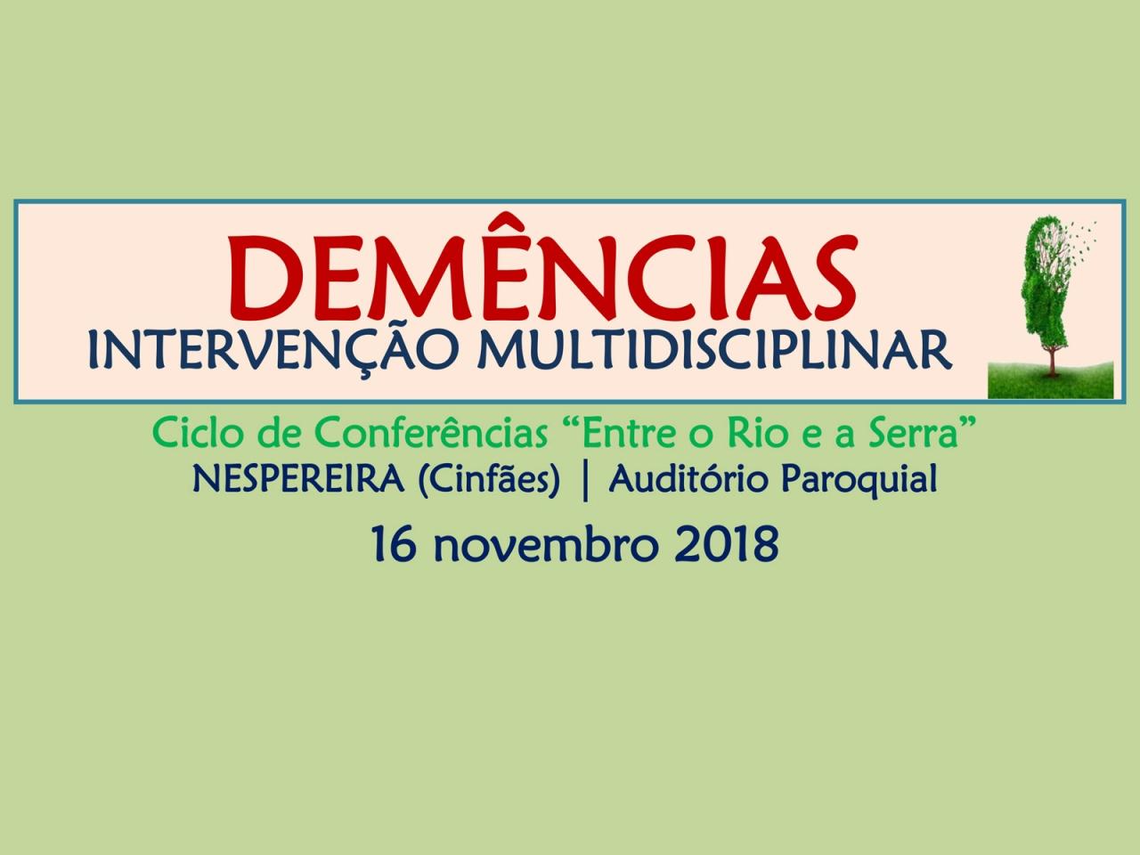 Demências - Intervenção Multidisciplinar