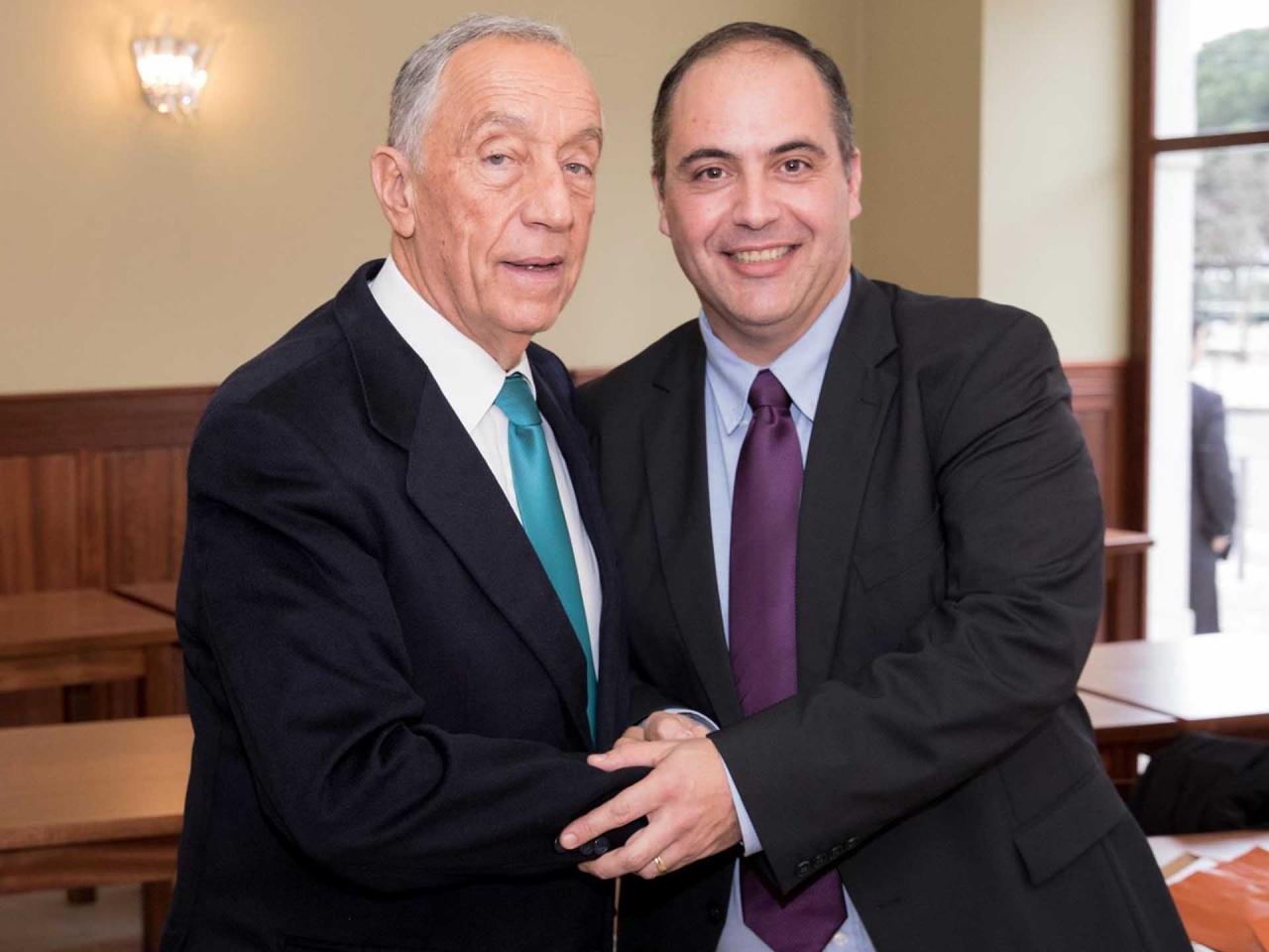 Marcelo Rebelo de Sousa, Sócio Honorário da nossa instituição